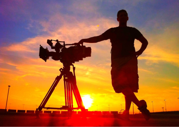 NBC Crew sunset