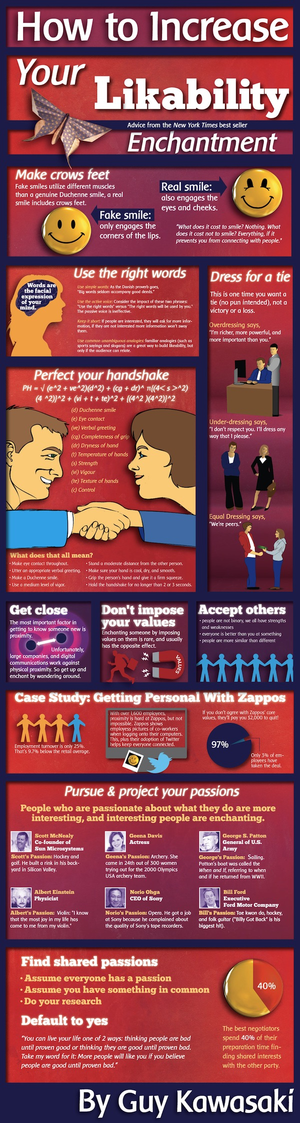 Increase likability